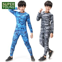 $enCountryForm.capitalKeyWord NZ - Compression Boys Gym Running Kids Training Basketball Clothes Men Fitness Jogging Suits Children Sports Wear Tights Clothing Set