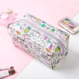 cheap zipper pouches UK - Makeup Lady Make Up Bag 2020 New Women Cosmetic Bag Portable Pouch Fashion Jelly Travel High Quality Cheap Dropshipping