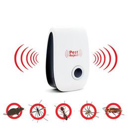 vendita calda Ultrasuoni Parassita Rifiuta Repeller Control Elettronica Repellente per parassiti Mouse Roditore Scarafaggio Zanzara Insetto Uccisore in Offerta