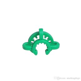$enCountryForm.capitalKeyWord Australia - Smoking Dogo Down Stem Clip 18mm 14mm plastic keck clips used for glass joints bong different color water pipe clips
