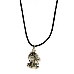 $enCountryForm.capitalKeyWord Australia - 925 silver zodiac pendant fashionable personality DIY pure silver leather rope pendant necklace