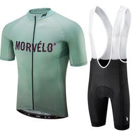 Tour de France 2019 Bike Team Morvelo Ciclismo Jersey Set Maillot Ropa Ciclismo Summer Bike Ciclismo Ropa Outdoor Jersey en venta