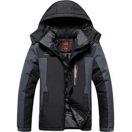 $enCountryForm.capitalKeyWord Australia - Winter Ski Jacket Men Waterproof Fleece Snow Jacket Thermal Coat For Outdoor Mountain Skiing Snowboard Plus Size L-9XL