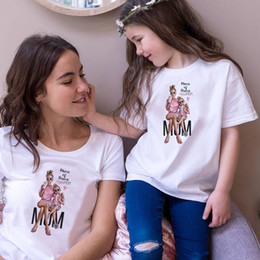$enCountryForm.capitalKeyWord Australia - New Mom And Baby T Shirt Mum And Daughter Clothes Matching Family Outfits QT-1924
