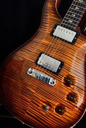 ElEctric guitar tigEr maplE online shopping - Custom Private Stock DGT David Grissom Stoptail Electric guitar Paul Reed Vintage Tiger Burst Flamed Maple Top Custom Guitars