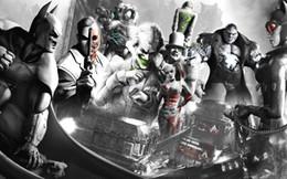 Batman Art Joker Australia - ARKHAM CITY BATMAN HARLEY QUINN JOKER movie wall decor Art Silk Print Poster 95848