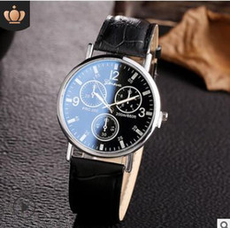 $enCountryForm.capitalKeyWord Australia - New Fashion China Cheap Price Wholesale Geneva Women Man Watch Leather Watch with box