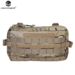 $enCountryForm.capitalKeyWord NZ - Emerson 1000D Tactical Molle Pouch EDC Bag Airsoft Paintball Utility Pouch Army Military Tactical Wallet for Blet Vest #42486
