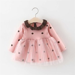 $enCountryForm.capitalKeyWord Australia - good quality 2019 Baby Girl Dress Turn-Down Collar Dots Mesh Kids Dress for Girl Vestido Pretty Birthday Dress Girl Children Clothes