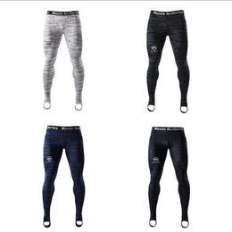 TighT skinny leggings online shopping - Sportwear Mens Leggings Sports Running Tights Basketball Gym Pants Bodybuilding Joggers Jogging Skinny Leggings Trousers