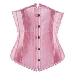 Discount 4xl 5xl 6xl lingerie sexy - SEXY Gothic Underbust Corset and Waist cincher Bustiers Top Workout Shape Body Belt Plus size Lingerie S-6XL
