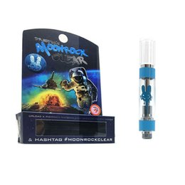 Wholesale New Moonrock Clear Cart Cartridges DR Zodiak Moon Rock Atomizers Ceramic Coil Vape Pen Thick Oil ml Gift Box Flavors Packaging Vapor Tank