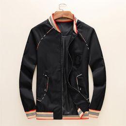 $enCountryForm.capitalKeyWord Australia - Designer luxury men's jackets 2019 new fashion casual print outerwear jacket plus large black red sport zipper spring autumn 11