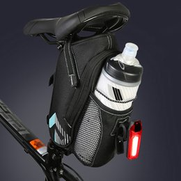 $enCountryForm.capitalKeyWord NZ - Bicycle Saddle Bag With Water Bottle Pocket Waterproof MTB Bike Rear Bags Cycling Rear Seat Tail Bag Bike Accessories #590335