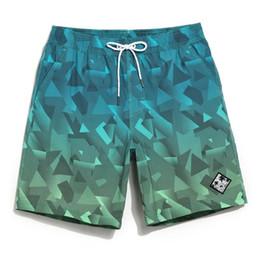 cf927cd56a435 Board Shorts Couples Beach Surfing Liner Swimwear Fitness Bodybuilding Swimming  Trunks Geometric Mens Bathing Suit Men