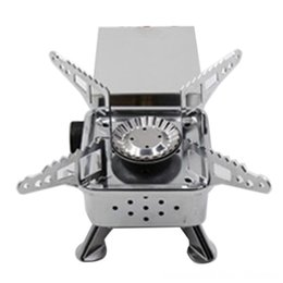 seasoning kitchen NZ - Gas Burner Camping Stove Tourist Equipment and Camping Camping & Hiking Outdoor Cooker Kitchen Propane Butane Gas Stove Hiking Fishing