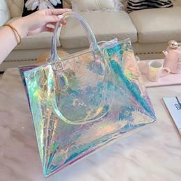 PoPular ladies bags online shopping - 2019 new transparent fashion women s luxury designer handbag high quality Popular top brands Ladies shoulder bag Totes bags
