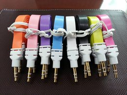 Lead Speaker NZ - 1M 3FT 3.5mm Male To Male Stereo Audio Car AUX Auxiliary Cable Cord Lead 500pcs