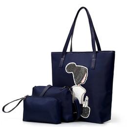 33108d3818eba Casual Cloth shoulder handbags online shopping - Cartoon Female Casual  Shoulder Bag Waterproof Canvas Bag Handbags