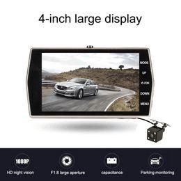 Car Dvr Hd Driving Recorder Australia - 4.0 inch 1080P Full HD Car DVR Camera with Rear View Camera Night Vision Auto Driving Video Recorder 12.0MP Car Dash