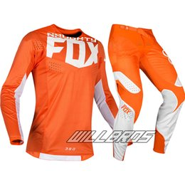 cycle gear NZ - Motocross set mountain downhill cycling Jersey pants Dirt bike Off Road Adult Racing Gear Set