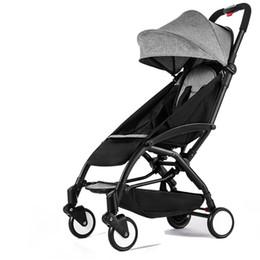 Stroller Light Folding Australia - Original baby stroller can sit&lie 175 degree folding umbrella trolley ultra-light baby car portable babyzen stroller