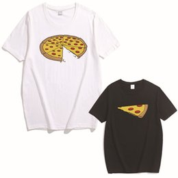 $enCountryForm.capitalKeyWord NZ - Family Matching Outfits Tops Mother Baby Daughter Matching Outfits Pizza Printing O-Neck Short Sleeve T-Shirt Family Pack Casual Tops XXXL