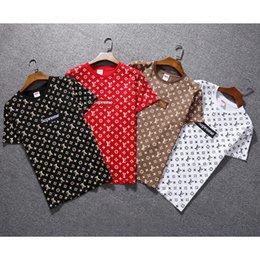 Ventes chaudes en coton Nouveaux T-shirts d'été pour hommes Plus Size Shirt T-shirt à manches courtes T-shirt en coton imprimé Vêtements pour hommes S-2XL. en Solde