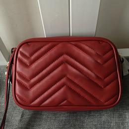 $enCountryForm.capitalKeyWord Australia - Hot sales New style lambskin 448065 top quality Women Fashion Handbag Shoulder bags Totes Marmont Camera bags gold chain hardware 447632