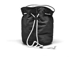 $enCountryForm.capitalKeyWord Australia - Classic logo Drawstring Gym Bucket Bag Thick Travel Draw String Bag Women Waterproof Wash Bag Cosmetic Makeup Storage Case