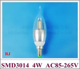$enCountryForm.capitalKeyWord Canada - tower style SMD 3014 aluminum LED candle bulb light lamp LED candle light E14 4W SMD3014 32led AC85-265V CE ROHS