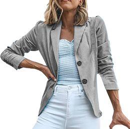 $enCountryForm.capitalKeyWord Australia - CHAMSGEND 2019 New Womens Coat Solid Turn Down Collar Long Sleeve Coat Fashion Parka Outerwear Casual Wild Ladies Jacket Jy20