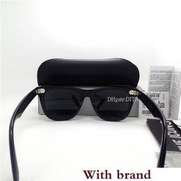 Vintage Big Square Glasses NZ - Quality Glass Lens G15 Big Frame Sunglasses Men Women Fashion Vintage Square Flat Sunglasses 52MM 54MM Hinge Goggles SunGlasses Case Box