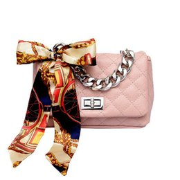 handbags scarfs Australia - Fashion High Quality Pu Leather Women Handbag Small Fragrant Wind Quilted Chain Bag Designer Lady Shoulder Messenger Scarf Bag