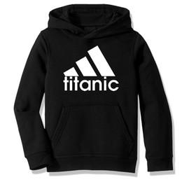 TiTanic cloThing online shopping - Fleece Hooded Sweatshirt Hoodies Titanic Parody Gift Casual Clothing