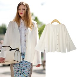 new crochet shawl 2019 - 2019 NEW Autumn Knitted Sweater Sunscreen Cardigan Ladies Shawl Thin Coat Casual Sweet Crochet Knitted Tops Long Sleeve