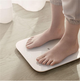 Wholesale Original Xiaomi youpin Mi Smart Weight Scale 2 Bathroom Scales Digital Electronic Lose weight Bluetooth Fitness LED screen baby animal APP Z