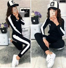 $enCountryForm.capitalKeyWord Australia - Autumn Winter Two-piece Tracksuit Jogging Suits For Women Sport Suits cardigan Hooded Running Sets Sweatshirts