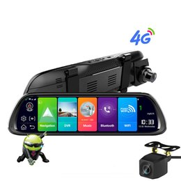 "$enCountryForm.capitalKeyWord Australia - Sbaid New Car DVR GPS Navigator Camera 4G 10""Android Stream Media Rear View Mirror FHD 1080P GPS Mirror Dash Cam Recorder"