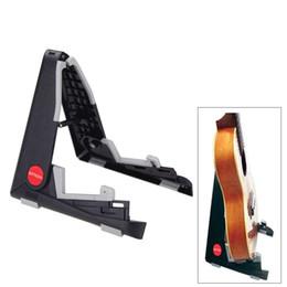 ammoon Складная подставка-держатель A-frame Кронштейн для крепления Ukelele Скрипка Mandolin Easy Universal