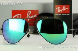 $enCountryForm.capitalKeyWord NZ - 3025 Sunglasses Classic Women Men Sunglasses Brand Designer Top Quality Sunglasses Metal Frame Flash Mirror Glass Lens 58mm with Box