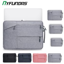 hp 15.6 laptop case NZ - Laptop Sleeve Bag 15.6 Inch For Macbook Air Pro Retina 13 16 15 13.3 15.4 Inch Laptop Case PC Notebook Cover for Xiaomi HP tina