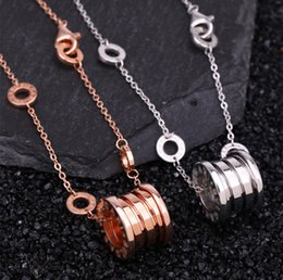 $enCountryForm.capitalKeyWord Australia - designer necklace Spring couple clavicle Necklace 925 pure silver plated 18K gold and silver jewelry