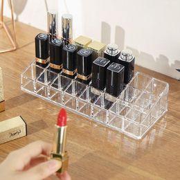 $enCountryForm.capitalKeyWord Australia - new Acrylic organizer makeup tools Holder Cosmetic storage box Lipstick Display Rack maquillage Accessor Jewelry Storage