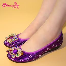 ad0af03f1 8 Фотографии Итальянская женская обувь для продажи-Модные плоские женские  туфли фиолетового цвета в итальянском стиле с