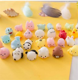 Rabbit toy online shopping - Mini Squishy Cat Seal Rabbit Cute Phone Straps Slow Rising Soft Press Squeeze Kawaii Bread Cake Kids Toy Phone DIY Accessories