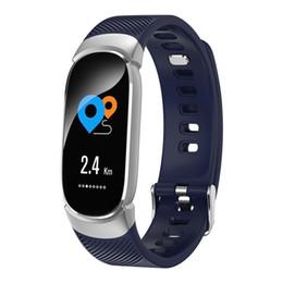 $enCountryForm.capitalKeyWord Australia - QW16 Female Smart Fitness Bracelet Color Screen Smart Band Blood Pressure Heart Rate Monitor Electronic Health Wristband PK Mi Band 3