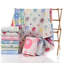 $enCountryForm.capitalKeyWord Australia - High Quality 100% Cotton baby long sleeve jumpsuit bathrobe Kids quilt baby bath towel and cape baby bath robe with hood