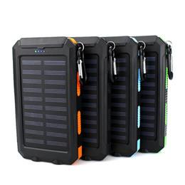 $enCountryForm.capitalKeyWord Australia - USB Port Solar Power Bank Charger External Backup Battery With Retail Box For iPhone iPad Samsung Mobile Phone