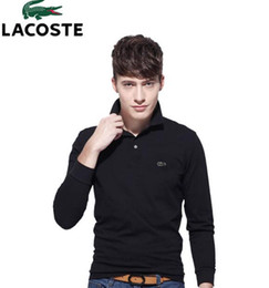 $enCountryForm.capitalKeyWord Australia - 8 Colors Mens Polo Sweaters Simple Style Cotton Knitted Long Sleeve Pullovers Big Size 3xl 4xl Spring Autumn Muls Designer Polo